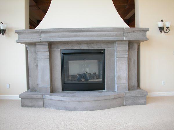Fireplace Surrounds Lucioni Arts Tukwila, WA