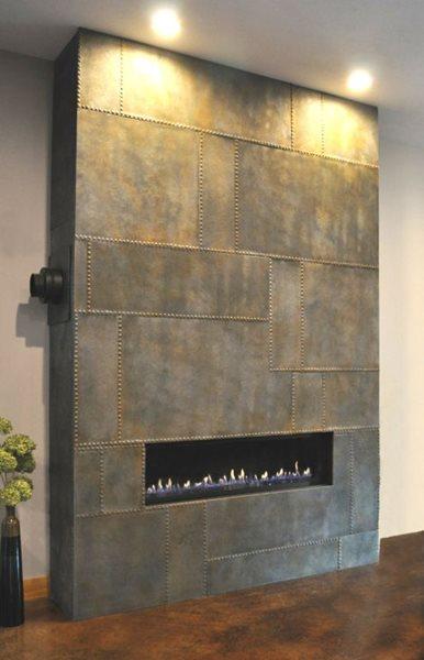 Panel Fireplace Fireplace Surrounds Hard Topix Jenison, MI