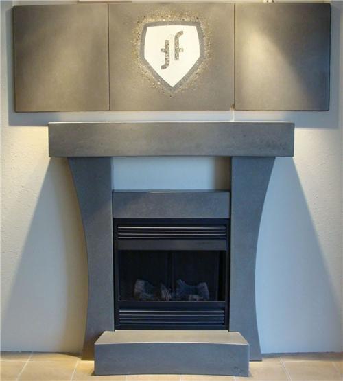 Fireplace Surrounds Terraforma Concrete Designs Ltd. Red Deer, AB