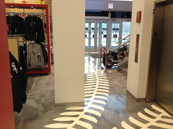 Floor Logos and More Concrete Coatings of Illinois Crest Hill, IL