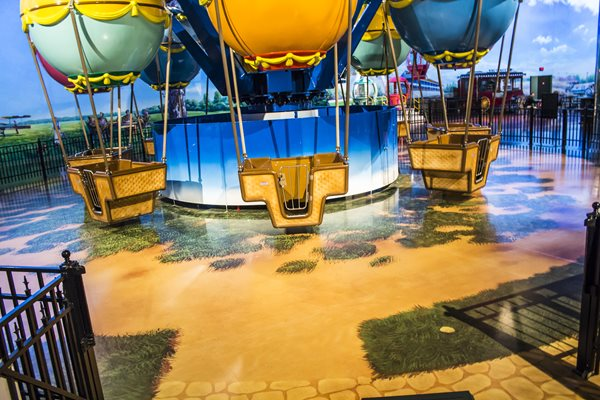Indoor Amusement Park, Floor Graphic Floor Logos and More FloorPix by Agio Imaging Portage, MI