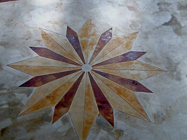Stained, Design Floor Logos and More Imagicrete, Inc STARKE, FL