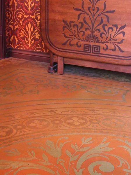 Stenciled, Cherry Floor Logos and More Modello Designs Chula Vista, CA