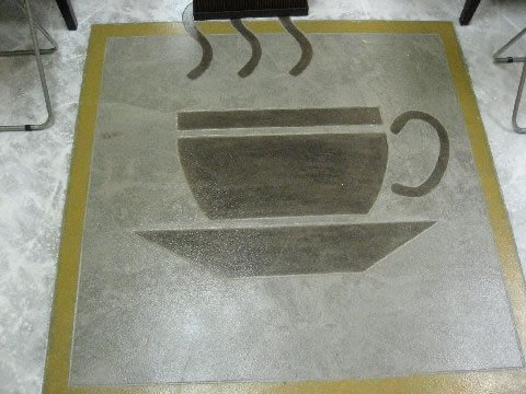 Floor Logos and More Use My Concrete FPP Wesley Chapel, FL