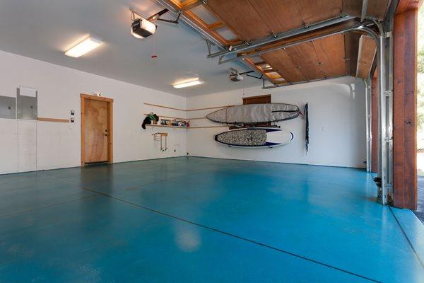 Blue Garage Floor Garage Floors Evolution Industries Verdi, NV