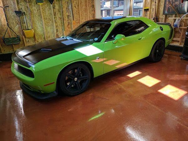 Brown Garage Floor, Coating Garage Floors Mammoth Coatings Arvada, CO