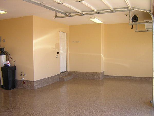 Brown, Polished Garage Floors Yezco Concrete Polishing Phoenix, AZ