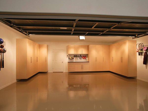 Epoxy Floor, Garage  Garage Floors Tailored Living of Madison Madison, WI