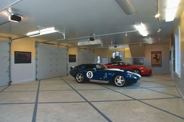 Grey, Diamond Garage Floors L.M. Scofield Company Douglasville, GA