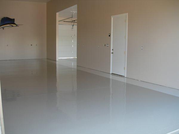 Grey, Polished Garage Floors Yezco Concrete Polishing Phoenix, AZ