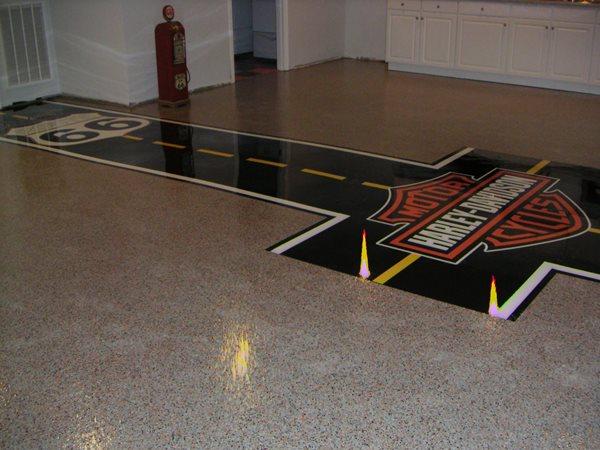 Logo, Route 66 Garage Floors Sure Step Coatings, LLC Johnson City, TN