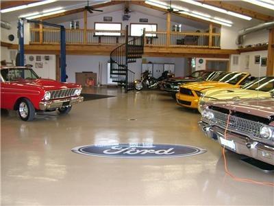 Logo, Showroom Garage Floors Industrial Applications Inc Portersville, PA