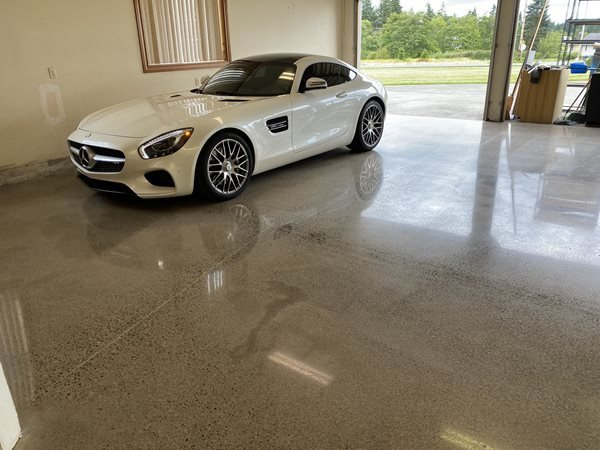 Polished Concrete, Garage Floor Garage Floors 2 Palms Decorative Concrete LLC Ridgefield, WA