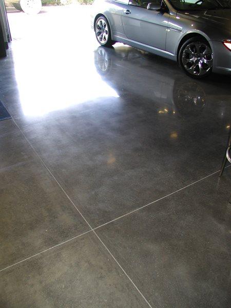 Polished, Granite Garage Floors Surfacing Solutions Inc Temecula, CA