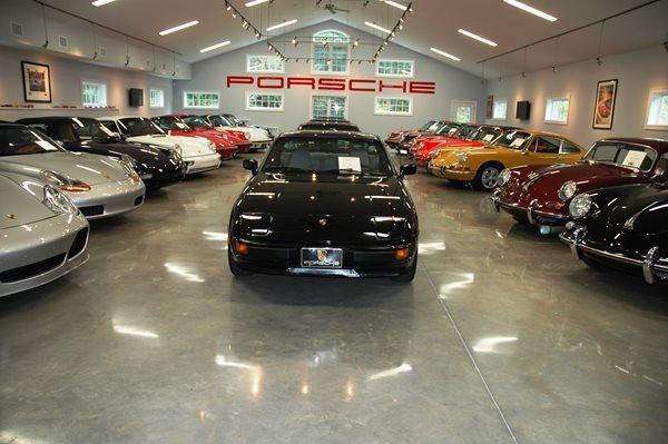 Porsche Collection, Polished Garage Floor Garage Floors Custom Concrete Solutions, LLC West Hartford, CT