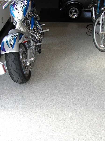 Speckled, Grey Garage Floors Surfacing Solutions Inc Temecula, CA