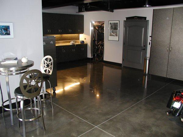 Steel, Polished Garage Floors Surfacing Solutions Inc Temecula, CA