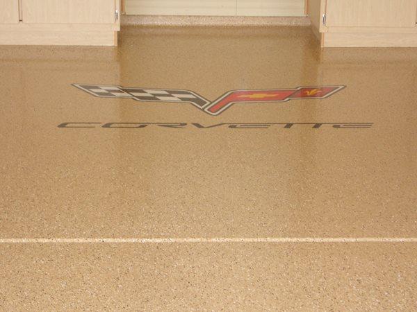 Tan, Logo Garage Floors Quality Epoxy, LLC Gilbert, AZ