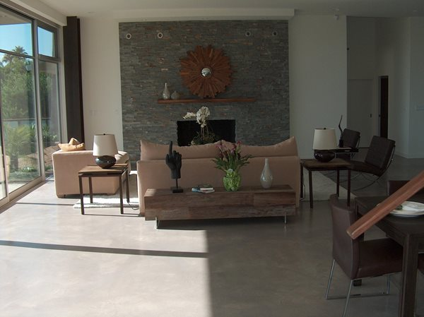 Get the Look - Interior Overlays Colors On Concrete Ontario, CA
