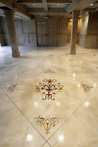 Get the Look - Interior Overlays Custom Concrete Solutions, LLC West Hartford, CT