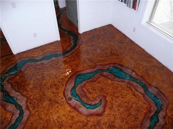 Get the Look - Interior Overlays Decorative Concrete Institute Temple, GA