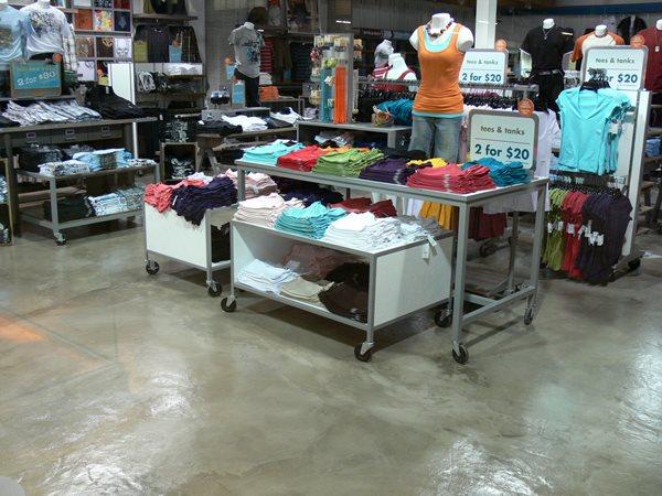 Polished, Industrial Get the Look - Interior Overlays SGF Floors Mc Ewen, TN