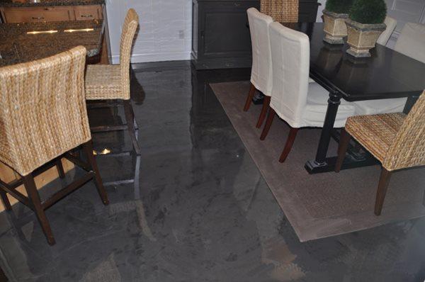 Get the Look - Interior Overlays Rad Concrete Coatings LLC Riverton, UT