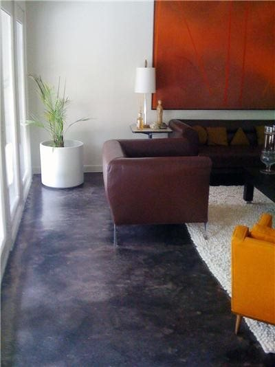 Get the Look - Stained Floors Concrete Studio Dallas, TX