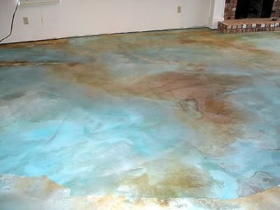 Get the Look - Stained Floors Fake-It Vancouver, BC