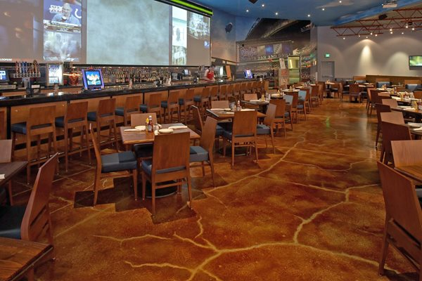Get the Look - Stained Floors Kemikoating Surfaces Portland, OR