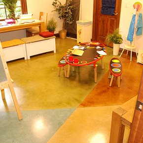 Get the Look - Stained Floors Specialized Construction Services, Inc.