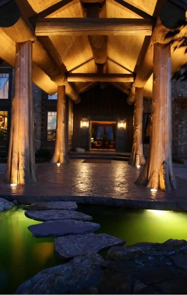 Stamped Concrete, Natural Stone Stamped Entryway Get the Look - Stamping Riverstone Stamped Concrete Spokane, Washington