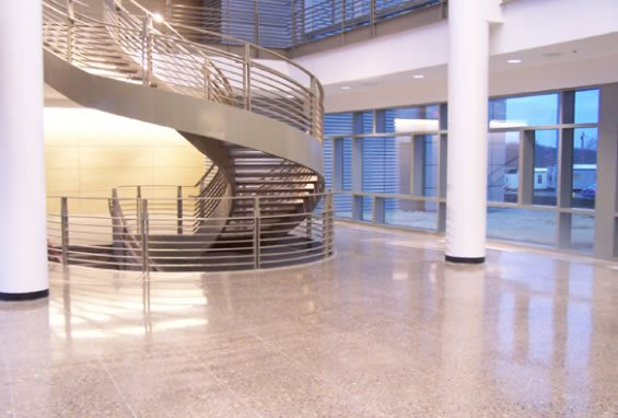 Polish, Office Gray Floors Total Polish Solutions Knoxville, TN