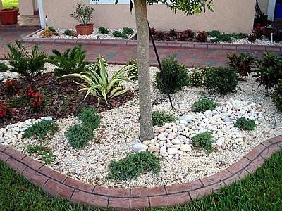Faux Brick Edging Landscape Borders VenKrete, Inc Coconut Creek, FL