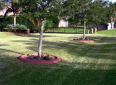 Red, Ring Landscape Borders VenKrete, Inc Coconut Creek, FL