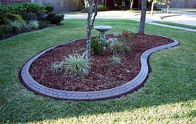 Small Stone, Kidney Bean Landscape Borders CURB-IT