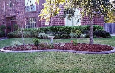 Stamped, Red Tint Landscape Borders CURB-IT