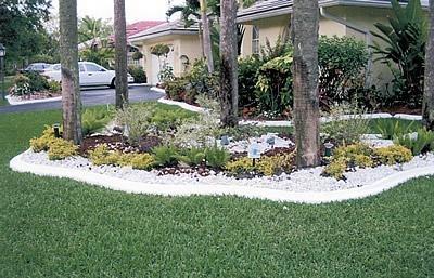 White, Edging Landscape Borders VenKrete, Inc Coconut Creek, FL