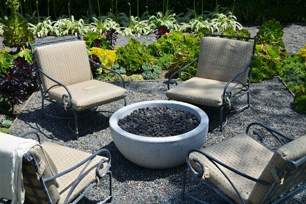 Fire Bowl, Lava Rock Outdoor Fire Pits ConcreteNetwork.com