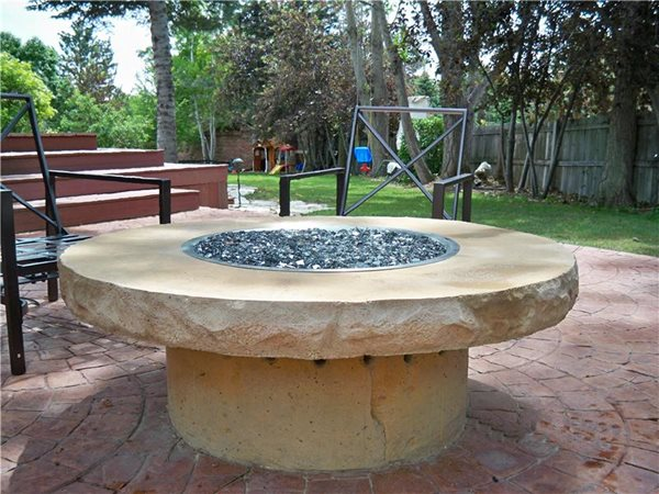 Outdoor Fire Pits Mark W.Mason Co Builders Edgewater, CO