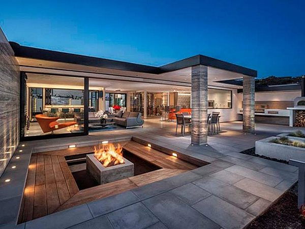 Patio And Fire Feature Outdoor Fire Pits DC Custom Concrete San Diego, CA