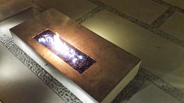 Rectangular Fire Pit Outdoor Fire Pits Heritage Bomanite Fresno, CA