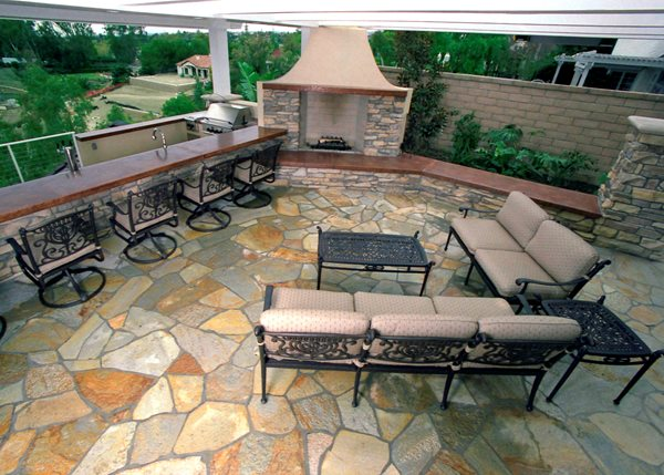 Fireplace, Mantel Outdoor Fireplaces California Concrete Designs Anaheim, CA