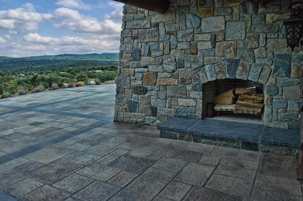 Fireplace Outdoor Fireplaces Unique Concrete West Milford, NJ
