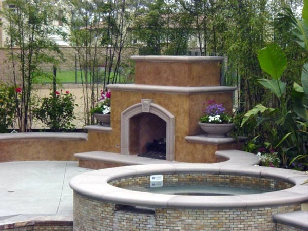 Molted, Fireplace Outdoor Fireplaces Specialty Design Coatings Laguna Niguel, CA