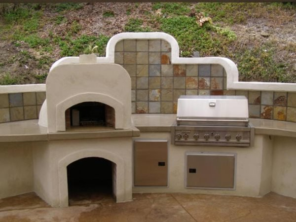 Pizza Oven Outdoor Fireplaces Concepts In Concrete Const. Inc. San Diego, CA