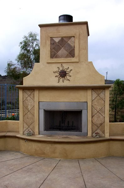 Southwest, Stainless Steel Outdoor Fireplaces The Green Scene Chatsworth, CA