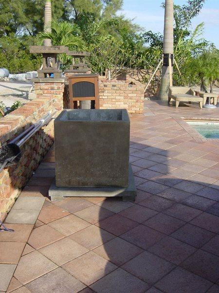 Cement, Planter Box Outdoor Furniture Concrete -N- Counters Lutz, FL