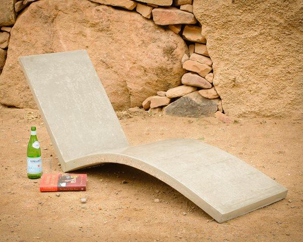 Concrete Chair Outdoor Furniture Palumbo Sculpture/Design Eldorado Springs, CO