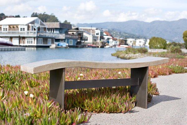 Wave Bench Outdoor Furniture Palumbo Sculpture/Design Eldorado Springs, CO